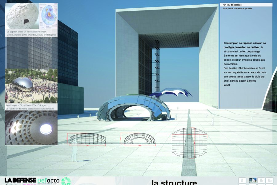 Biennale de mobilier urbain à Paris, La Défense