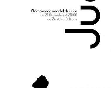 Projet d'affiche pour le mondial de Judo